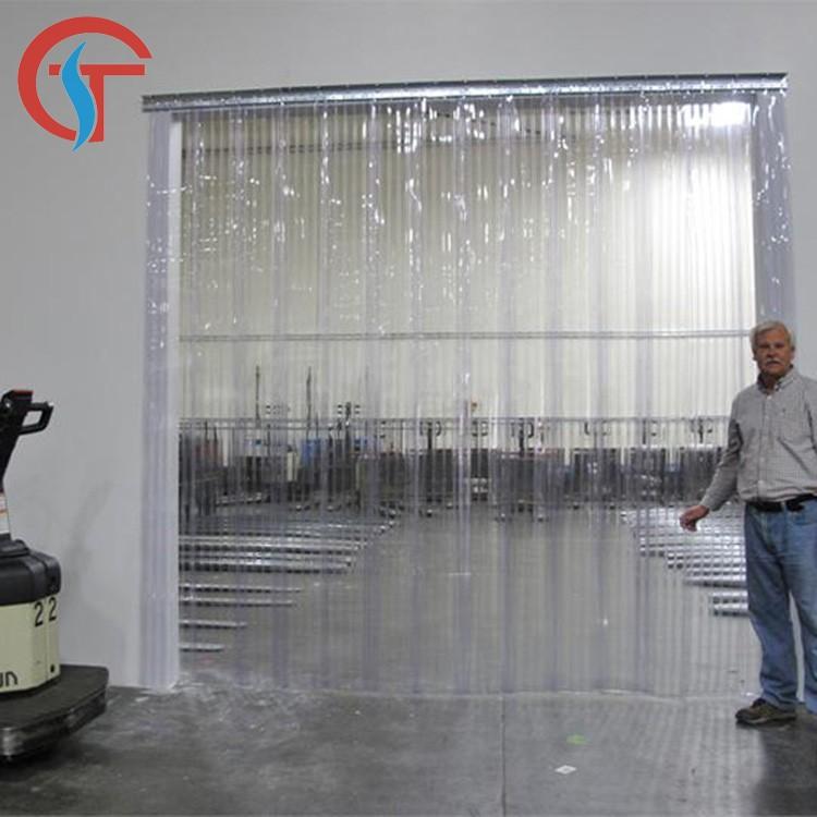 pvc pliant en plastique rideau de porte