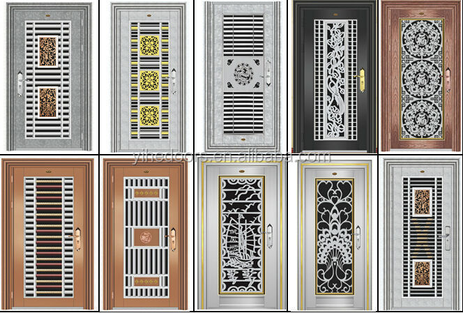 Latest Stainless Steel Grill Door Design,Stainless Steel