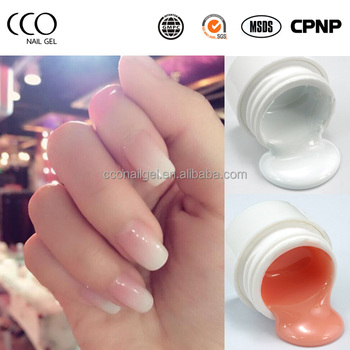 Hot High Quality 4d Color Nail Extension Mold Easy Soak Off Uv Builder Gel