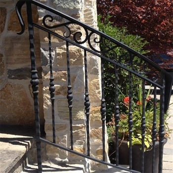 Exterior Handrail Lowes Wrought Iron Railing Stair Railing Buy   Outdoor Spiral Staircase Lowes   Treads Spiral   Wood Treads   Arke Eureka   Glass Railings   Slip Stair