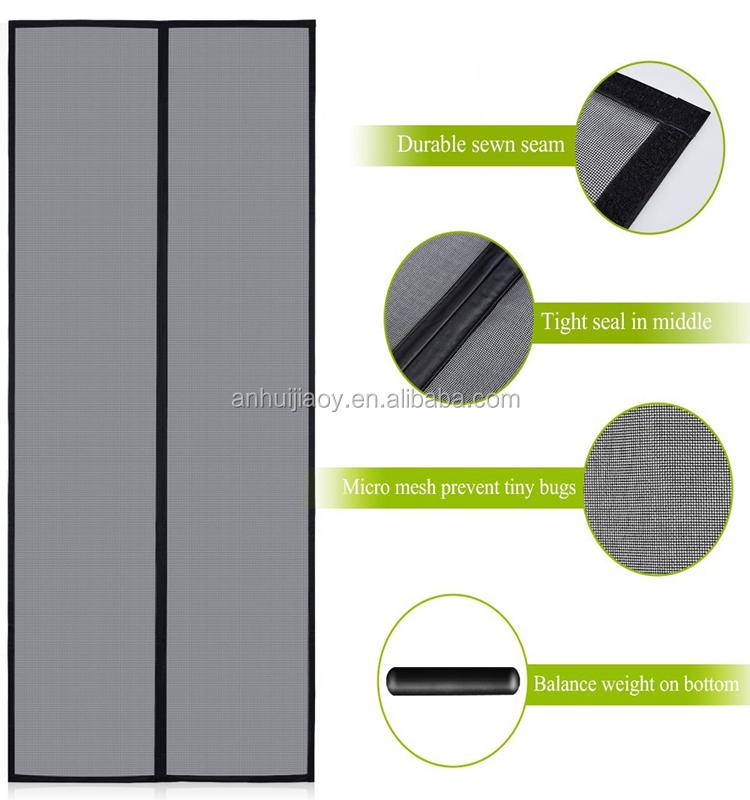 amazon magnetic screen door reinforced fiberglass mesh curtain front door screen with heavy duty mesh buy magnetic screen door reinforced fiberglass
