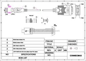 Usb Para Rs232 Porta Serial Pda 9 Pinos Db9 Cabo Adaptador