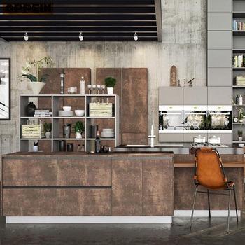 2016 moderne italien conceptions toutes les iles en bois armoires de cuisine ensemble de meubles