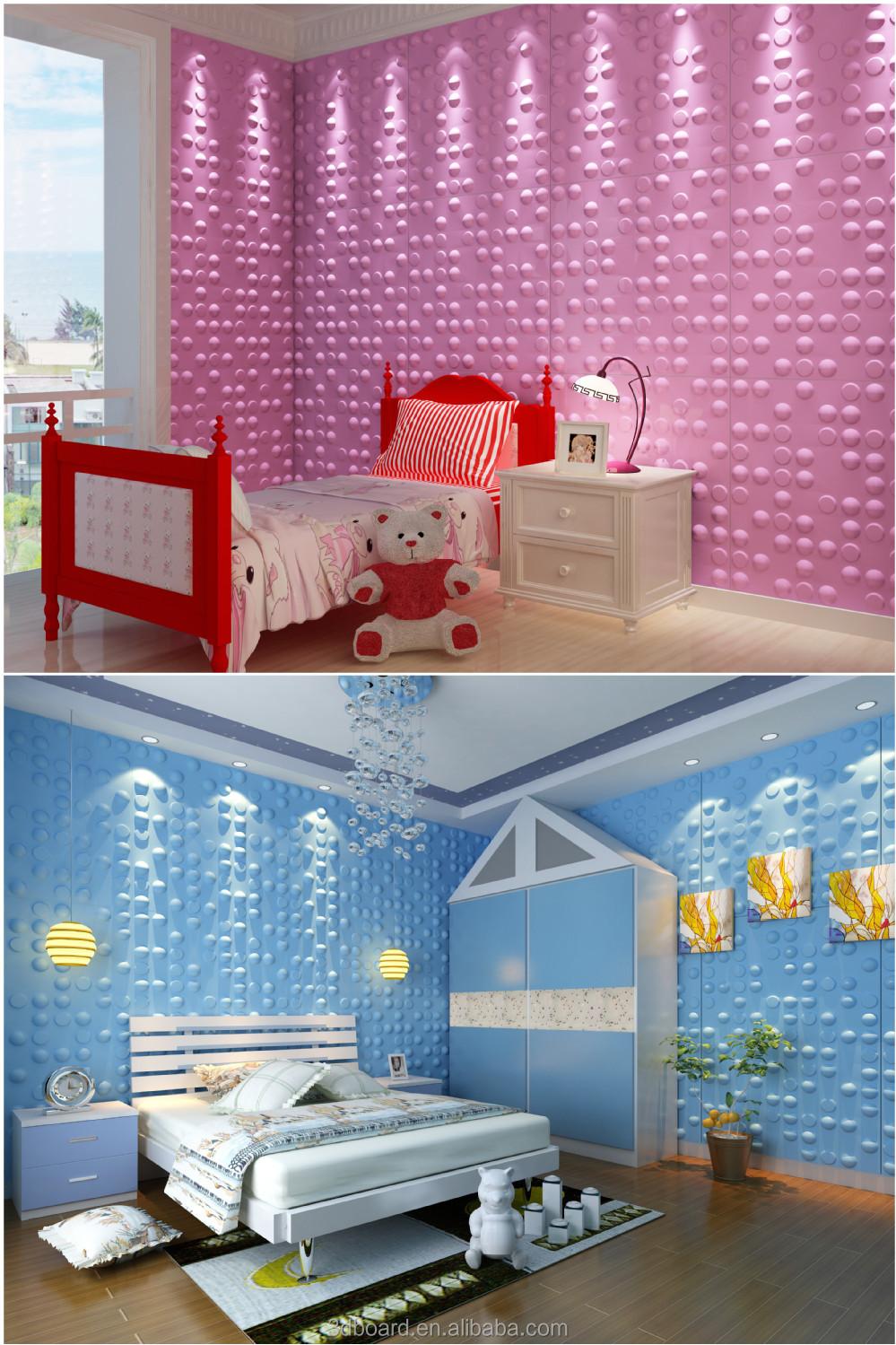Modern Wall Art Decor Interior 3d Effect Wall Panels For