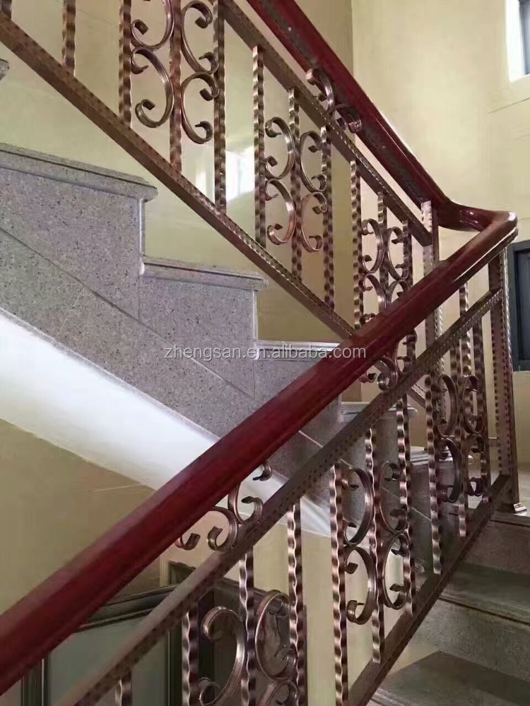 Malaysia Style Stainless Steel Stair Railing Designs For House | Stainless Steel Staircase Railing Designs | Curved | Elegant | Balcony | Balustrade | Mono Stringer Steel