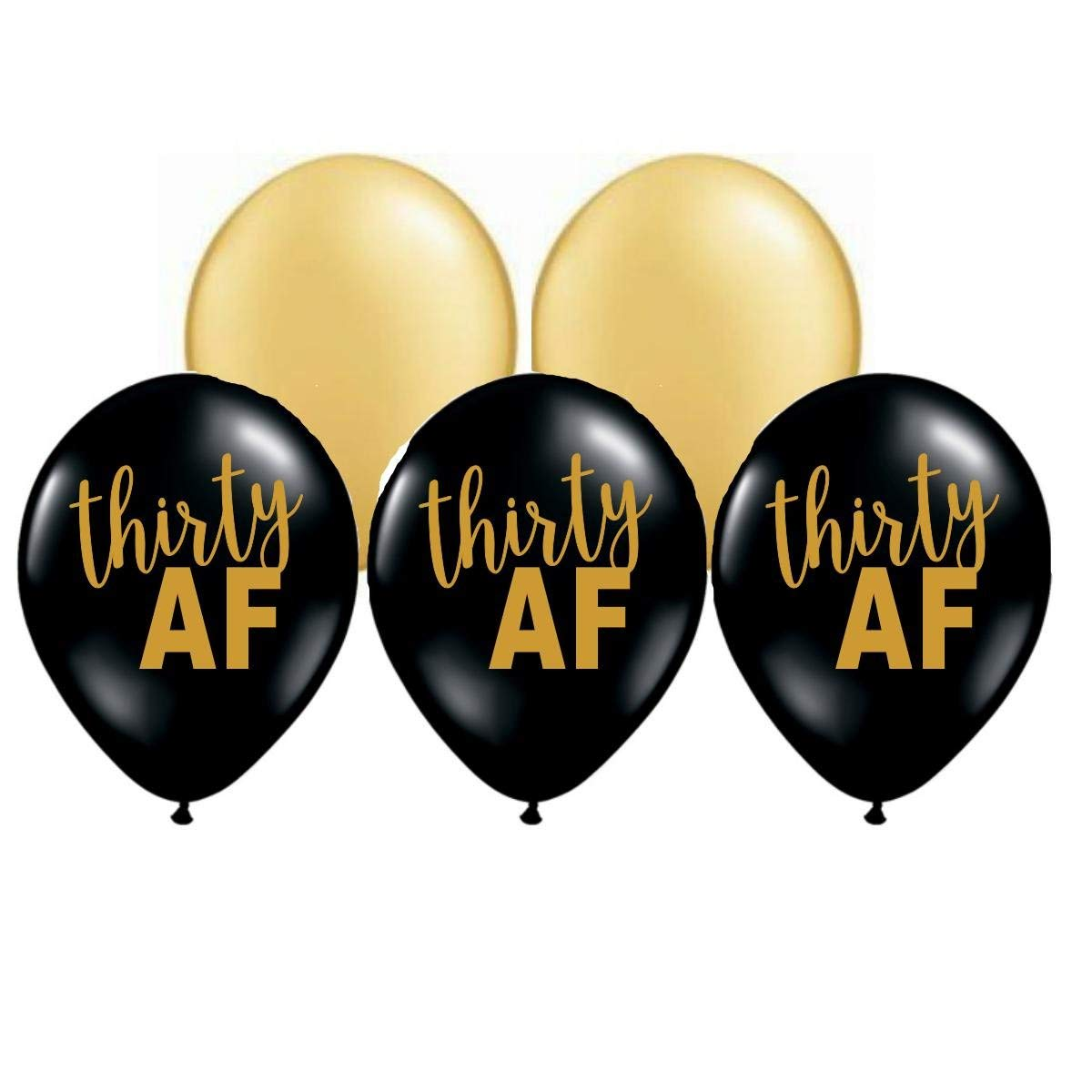 Buy Thirty Af Balloons 30th Party Decorations 30th Birthday Balloons 30th Birthday Party Balloons 30 Af Balloons Gold And Black 30th Birthday Party Decor Set Of 5 In Cheap Price On Alibaba Com