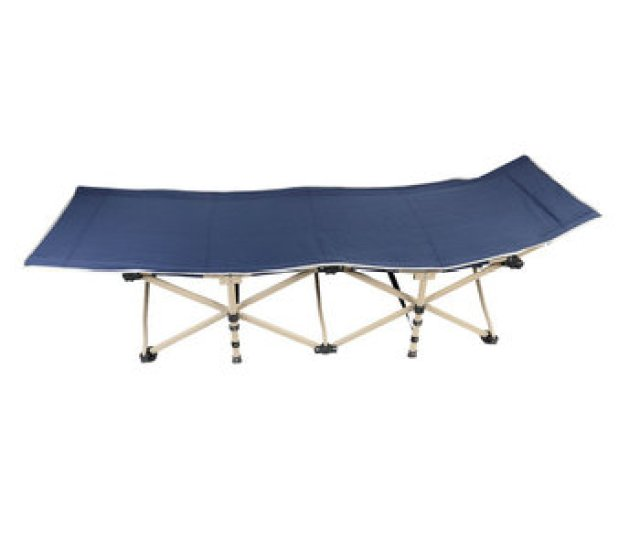 Navy Blue Backpacking Military Army Steel Metal Foldable Camping Cot Bed Buy Folding Camp Bedcamping Cots For Saledouble Camping Cot Product On Alibaba