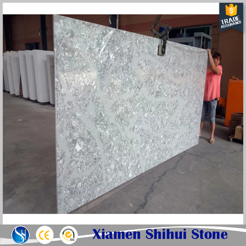 Sparkle White Quartz Countertop