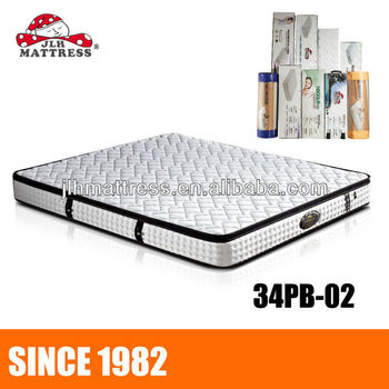 King Size Sleepwell Mattresses Roll Up Pocket Spring Mattress With Natural Latex
