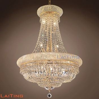 Zhongshan Guzhen Lighting Factory Crystal French Chandeliers Manufacturer Made In China 71024