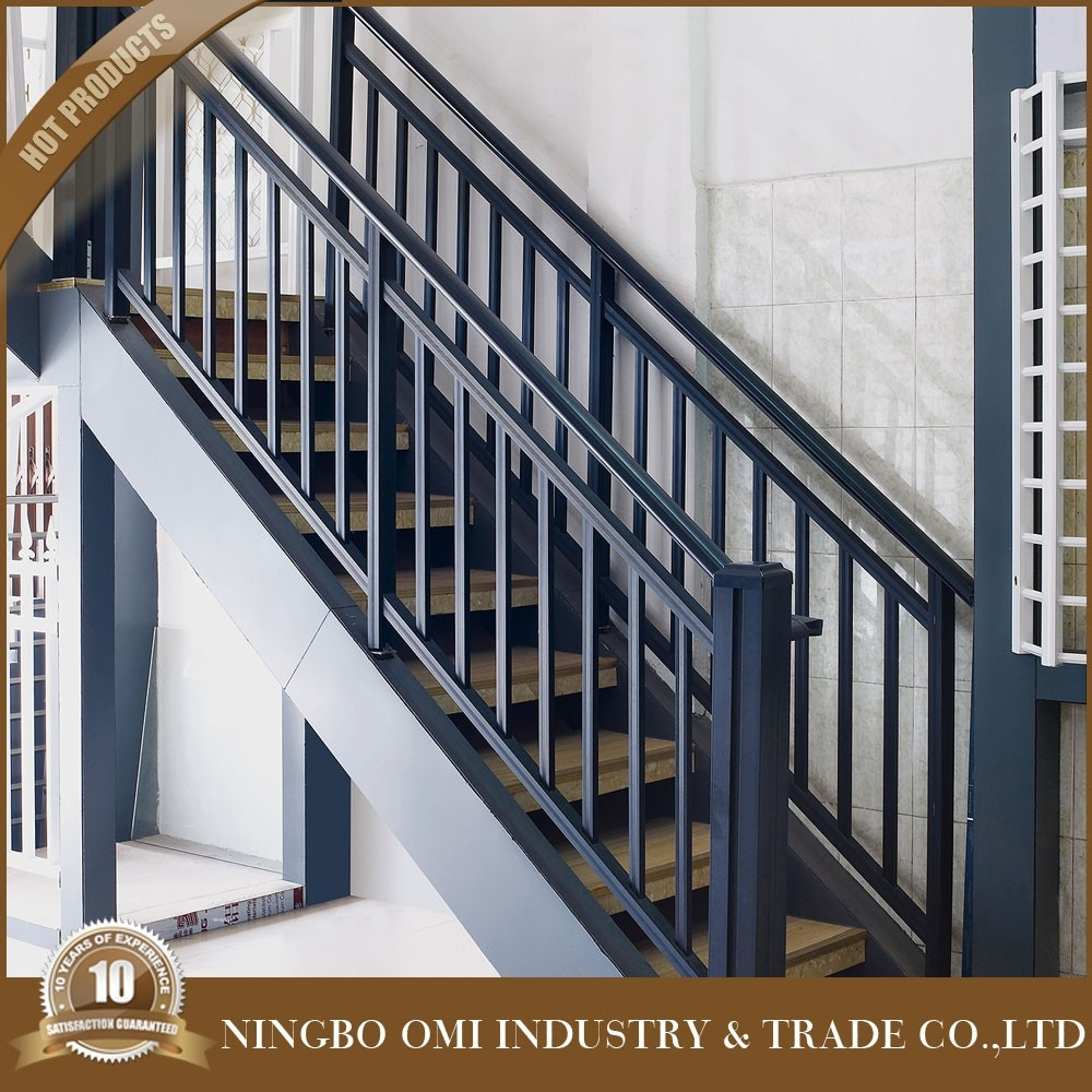 Decorative Metal Stair Railing Good Price Simple Design Aluminum | Outdoor Iron Staircase Designs | Gallery | Outdoor Balcony | Exterior | Curved Staircase Carpet | Wooden Staircase