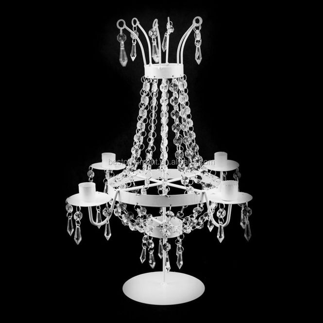 Table Top Chandelier Centerpieces For Weddings