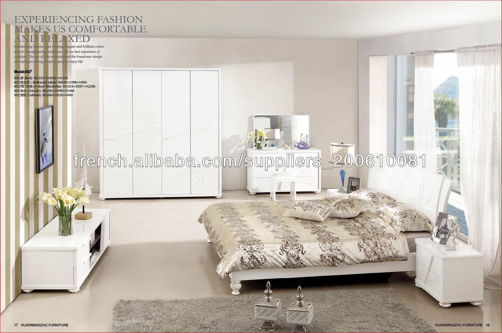 chambre coucher moderne blanc ensemble de meubles lots for chambre avec meuble blanc