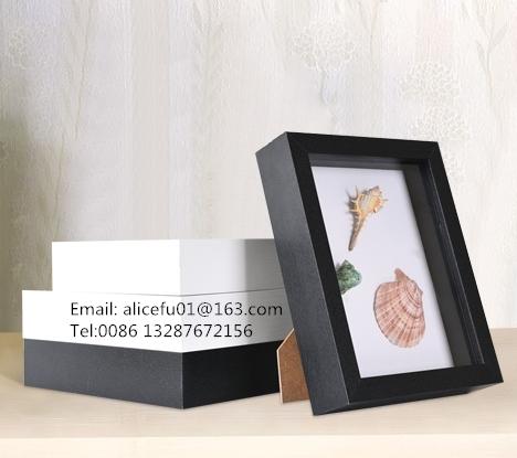 chine usine fournisseur pas cher art 3d ombre boite cadre profond en bois cadre photo boite d echantillons cadre buy cadre de boite d ombre cadre