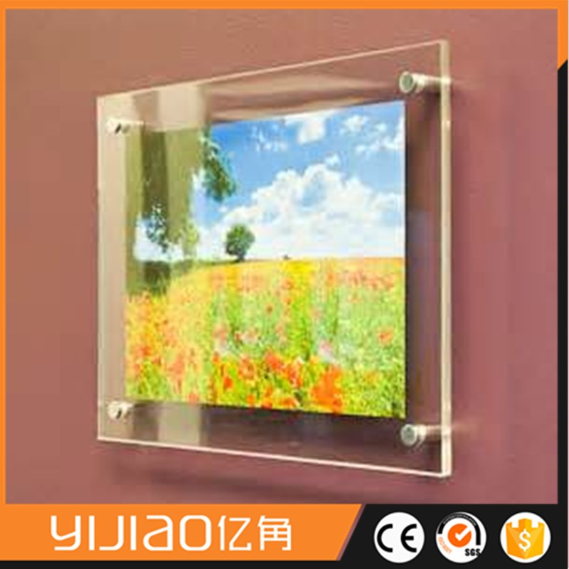 Wall Mounted Plastic Frames