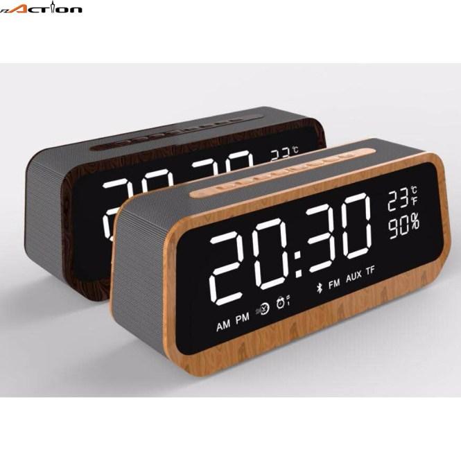 Fm Radio Alarm Clock Support Tf Card
