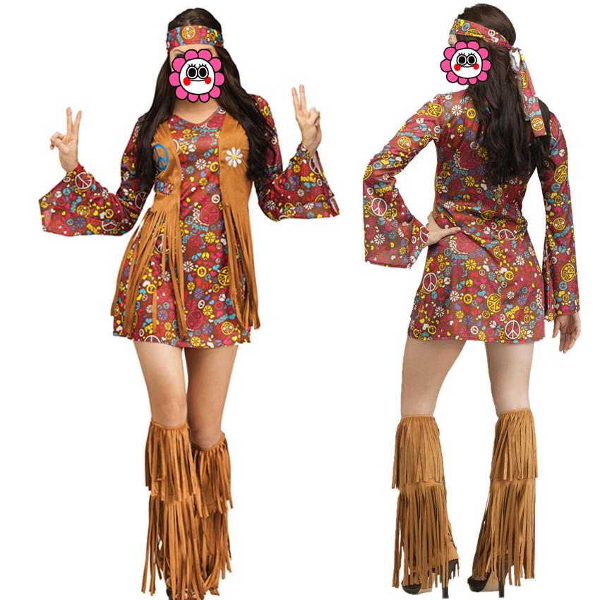 Venta Al Por Mayor Hippies Vestimenta Compre Online Los