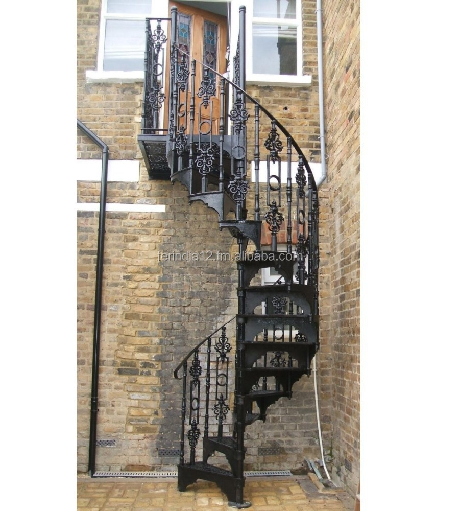 Cast Iron Spiral Staircase Buy Cast Iron Spiral Staircases Iron   Cast Iron Spiral Staircase   Modern   Traditional   Stair Case   Kitchen   Railing