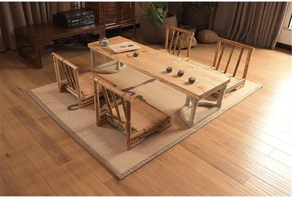 grand tapis de sol en bambou accessoire de matelas rectangulaire portable tatami a la mode moquette de styliste tapis de lit pour salon buy tapis en