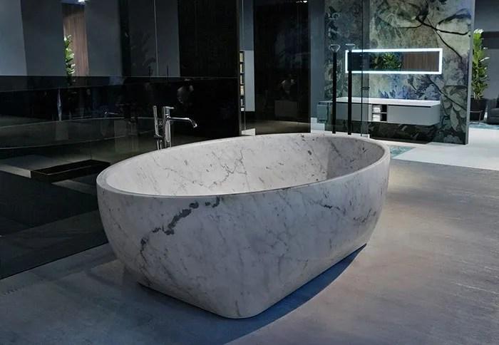 baignoire autoportante personnalisee en pierre naturelle blanche haute qualite prix pas cher en marbre massif buy baignoire en marbre baignoire en