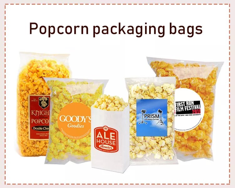 packaging clear custom logo wholesale best selling products microwave popcorn bags buy microwave popcorn bags popcorn bags plastic popcorn packaging