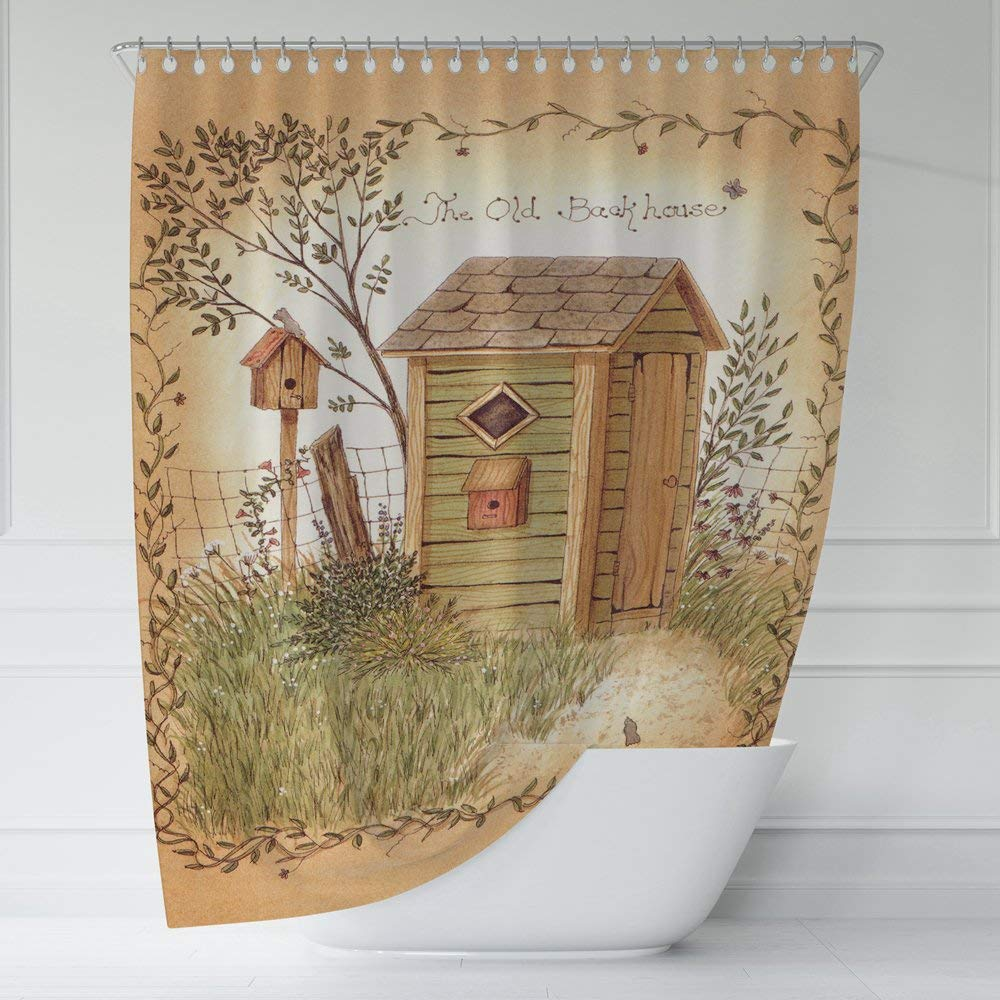 buy dq homedecor country outhouses