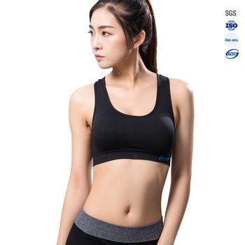 High Quality Girl Tube Sexy Women Yoga Fitness Sports Bra