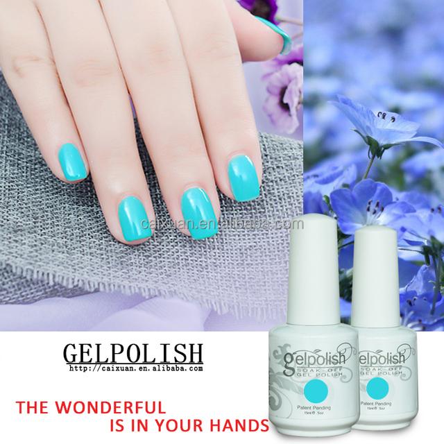 2017 Private Label Uv Nail Gel Polish 567 Colors 15ml Soak Off