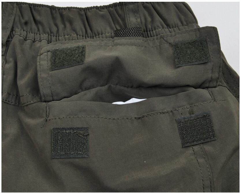 Men's Cargo Pants 2019 Winter Casual Warm Thicken Fleece Pants Men Cotton Multi Pockets Combat Military Baggy Tactical Pants 55