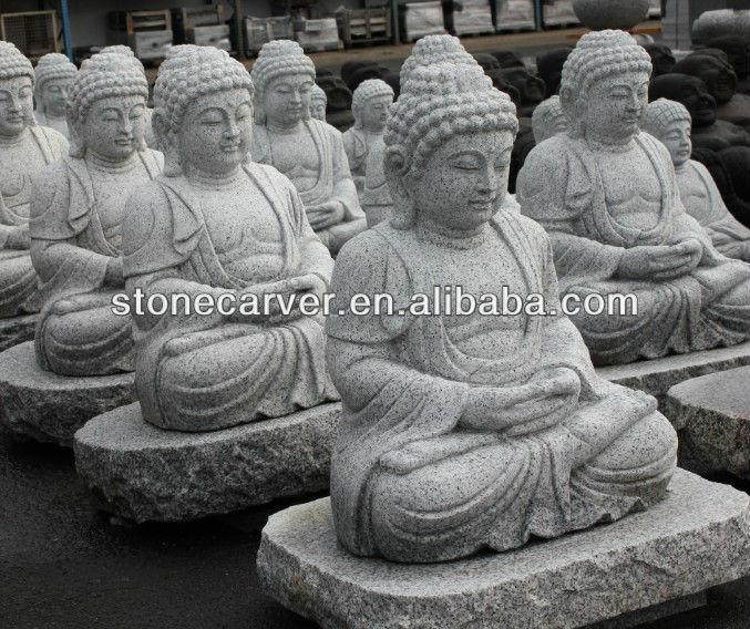 bouddha grande taille life statue
