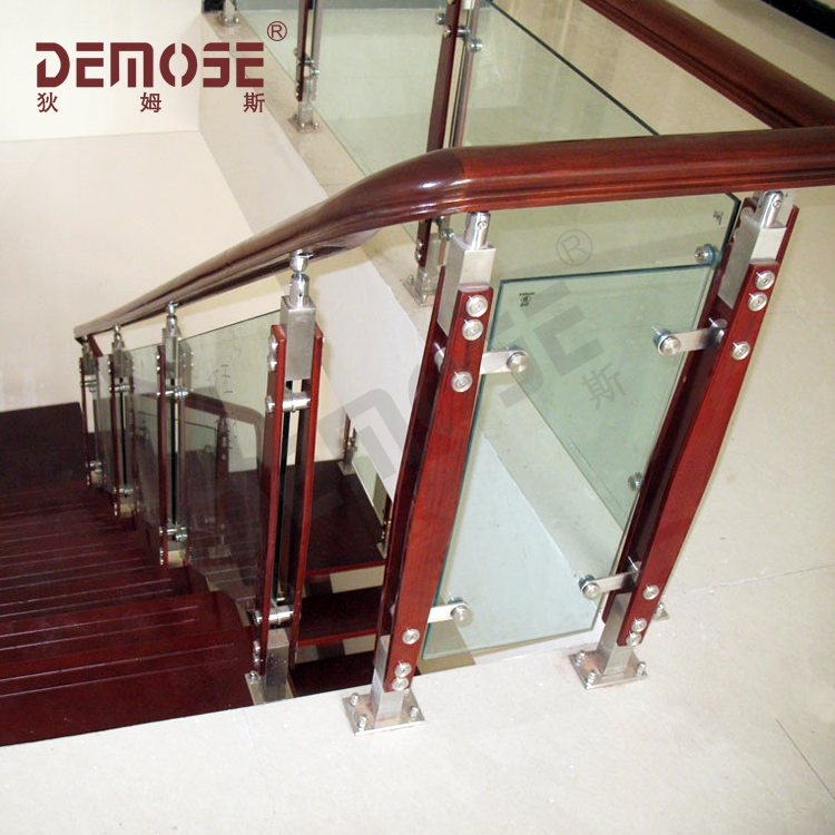 Carving Bamboo Wooden And Glass Stair Railing Buy Carving | Wood And Glass Staircase | Stair Case | Simple | Spiral | Small | Light Oak Glass