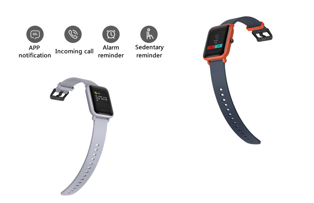 Original Xiaomi Huami Amazfit Youth Smart Bip Bit Face GPS Fitness Tacker Heart Rate Monitor IP68 Waterproof English Version (6)