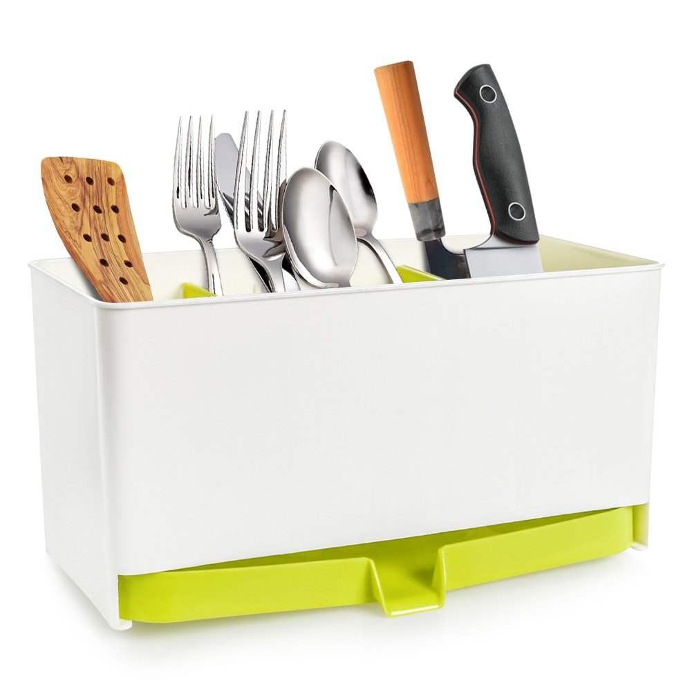 buy cutlery drainer sink utensil holder