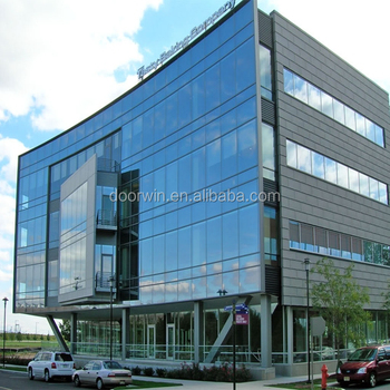 Aluminum Exterior Glass Curtain Wall For Building Offer Installent If Necessary Also Have