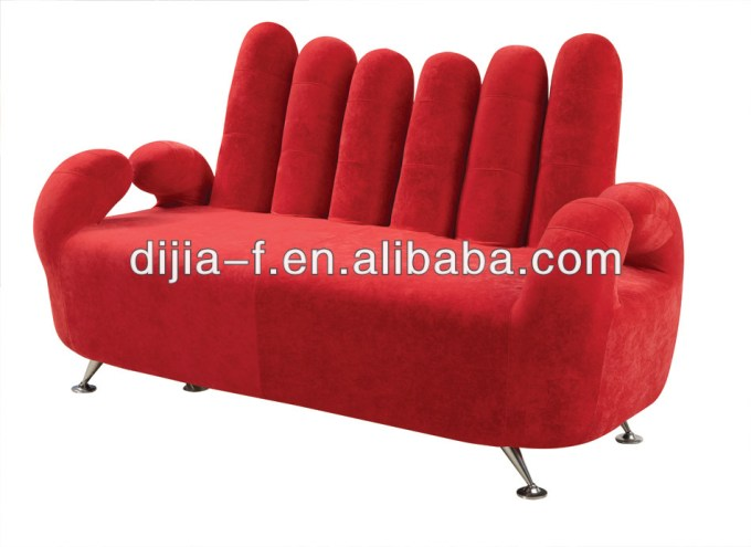 Fabirc Upholstered Finger Sofa Chair Product On Alibaba Com