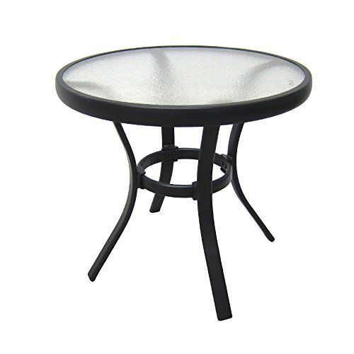 cheap black glass patio table find
