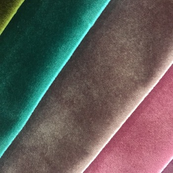 Shiny Luxury Italy Velvet Fabric For Sofa Home Textile Upholstery