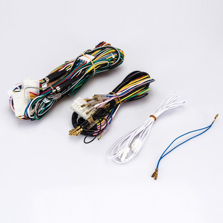 Arcade Game Machine Wire Harness Color Codes Jamma Pcb