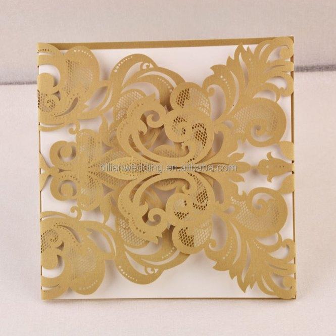 Diamond Decorated Baby Shower Invitation