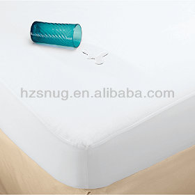 Waterproof Soft Velour Mattress Cover