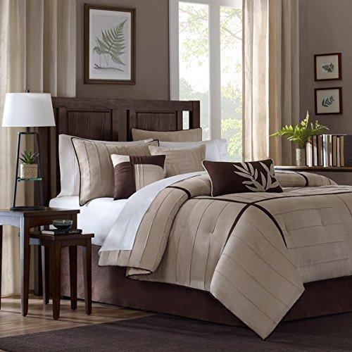 cheap dark brown comforter set find