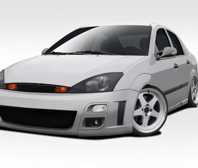 Get Quotations  C2 B Ford Focus 4dr Zx4 Duraflex F Sport Body Kit 4 Piece