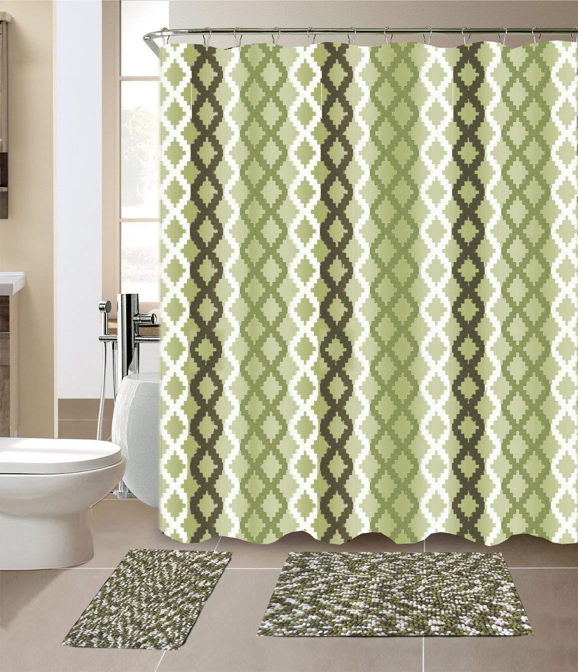 cheap sage green shower curtain find
