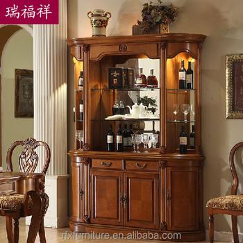 Wooden Flooring Liquor CabinetDisplay CabinetLiving Room