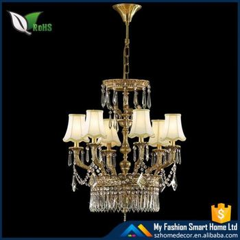 Desh Metal Crystal Chandelier Used Hotel From