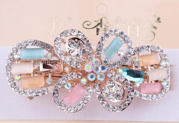 Fancy Fashion Crystal Stone Different Types Hair Clips Hai     fancy fashion crystal stone different types hair clips hai accessories  elegant