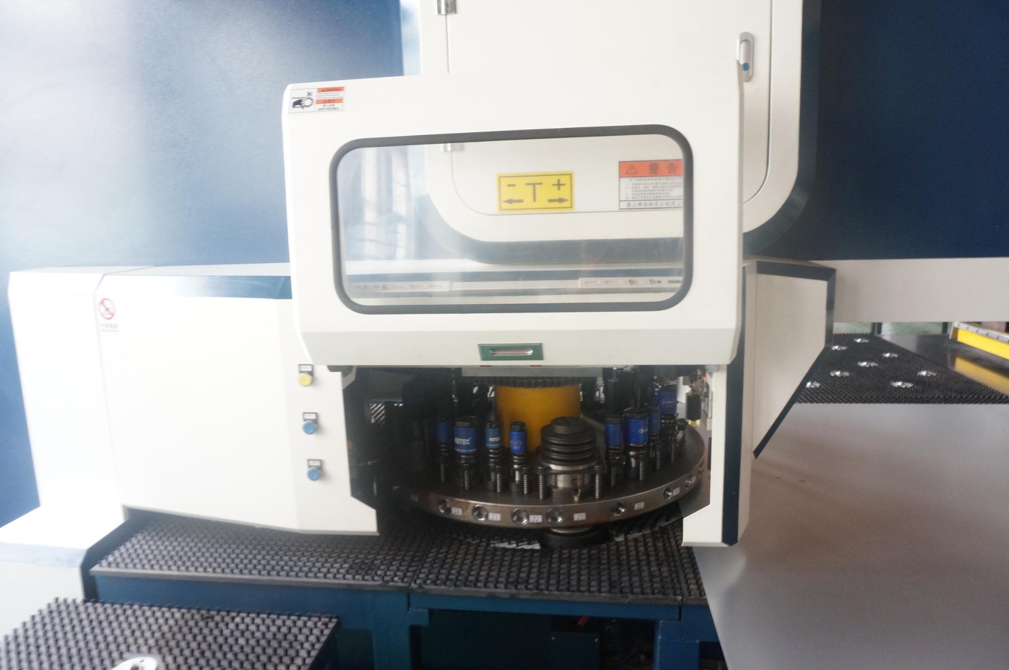 Oha Brand T Series Cnc Turret Hole Punching Machine