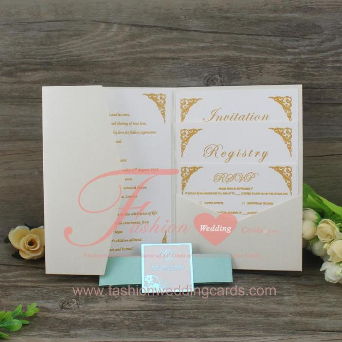 Guangzhou Personalised Wedding Invitation Card Sleeves With Belly Bands