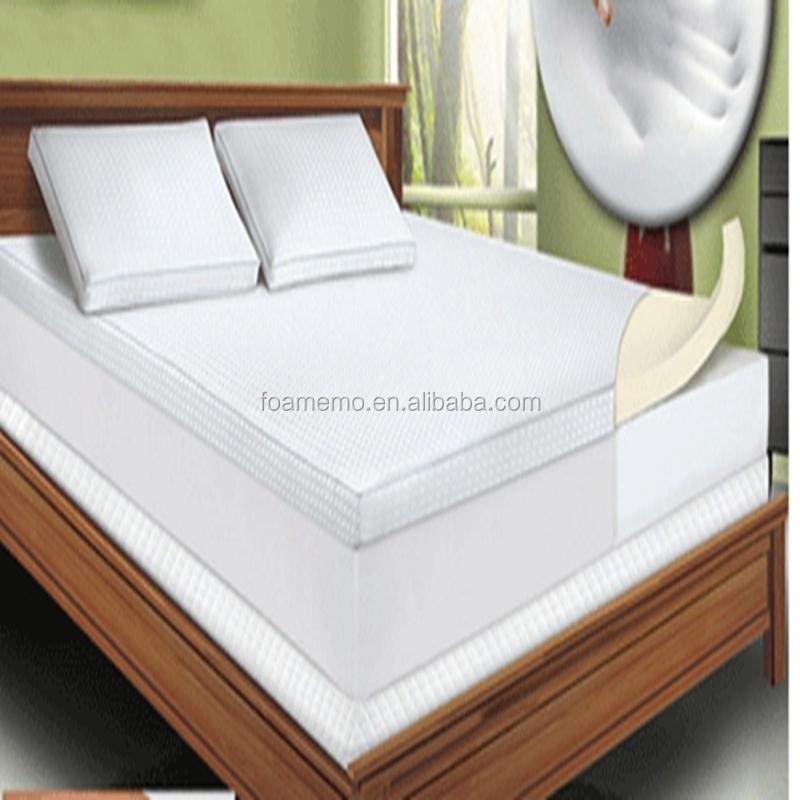 mousse a memoire de refroidissement matelas pad topper king size 5 gel lit de literie
