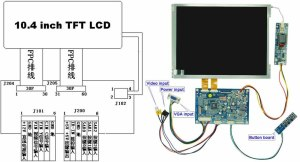 10 Inch Tft Touch Screen Lcd Monitor  Buy 10 Inch Touch